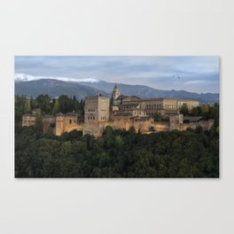 Alhambra, Granada Canvas Print
