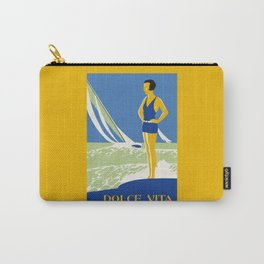 Dolce Vita Jazz Age Summer Travel Carry-All Pouch