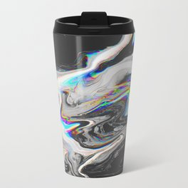 CONFUSION IN HER EYES THAT SAYS IT ALL Metal Travel Mug