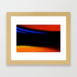 EMBRACE THE DARKNESS Framed Art Print