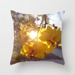 Morning, Sunshine Throw Pillow