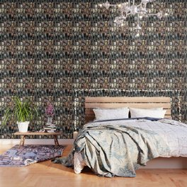 Pebbles In A Grid Wallpaper