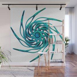 Star_B_blue Wall Mural