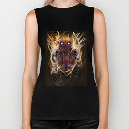 The Lady and The Robot Biker Tank