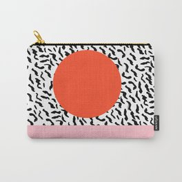 Spazz - throwback memphis 1980s style retro vintage texture illustration decor design style hipster Carry-All Pouch