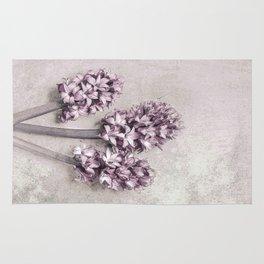 Delicate Hyacinths Rug
