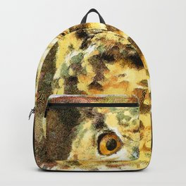Cute Small Owl Backpack