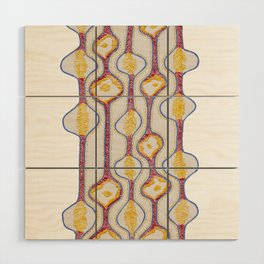 Stitches - Growing bubbles Wood Wall Art