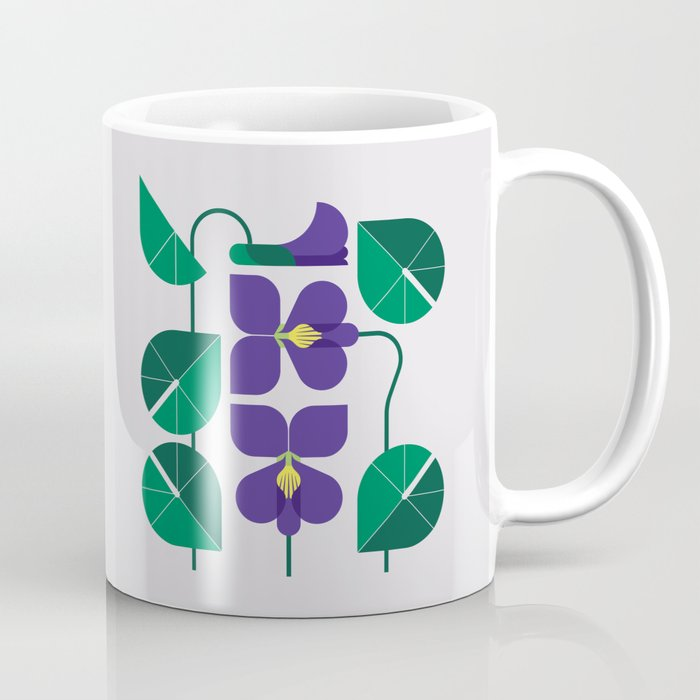 Blue Violet Coffee Mug