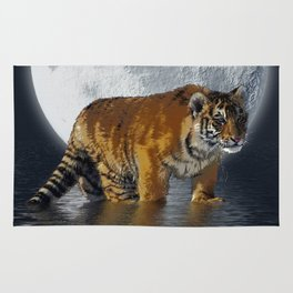 Moonlite Night Tiger Rug