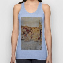 Stone wall Abstrackt hole Unisex Tank Top