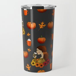 Pumpkin Spice Travel Mug