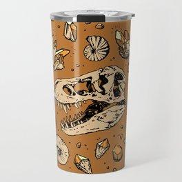 Geo-rex Vortex   Citrine Quartz Travel Mug
