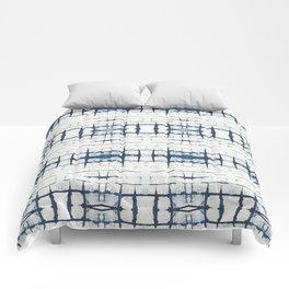 Faded Japanese Shibori Comforters