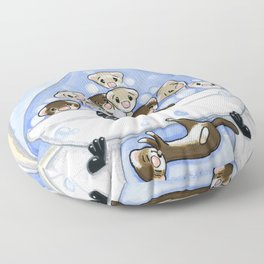 The Swimming Hole Floor Pillow