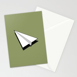Paper Airplane 1 Stationery Cards