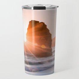 Sea light rock 4 Travel Mug