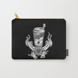 Coffee Lovers (black version) Carry-All Pouch