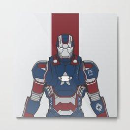Iron Patriot  Metal Print
