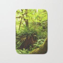 Rainforest Ferns Bath Mat