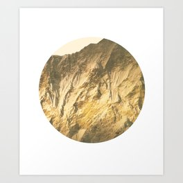 Steinfeld Winter Orange Art Print