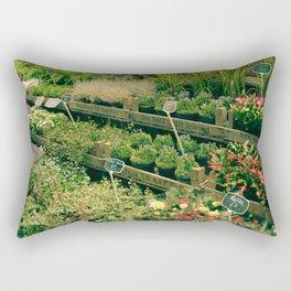 Marché Aux Fleurs Rectangular Pillow