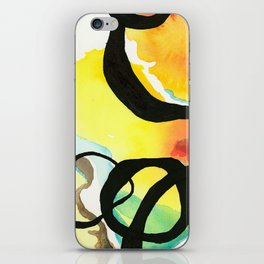 Moving through Love #2 iPhone Skin