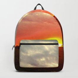 Chasing fire       (Curtain panel #2) Backpack