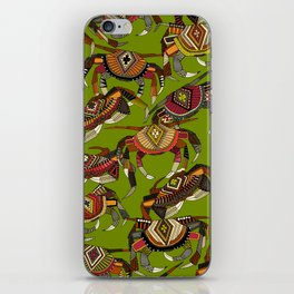 crabs lime iPhone Skin