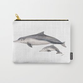 Australian humpback dolphin (Sousa sahulensis) with baby Carry-All Pouch