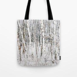 Winter Trees Tote Bag