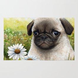 Pug Dog Rug