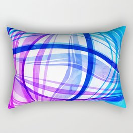 Abstract Vivids Rectangular Pillow