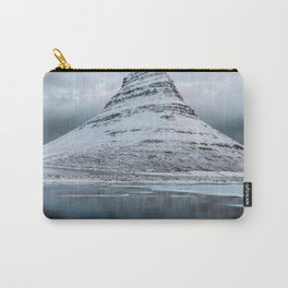 Kirkjufell Mountain in Iceland - Landscape Photography Carry-All Pouch
