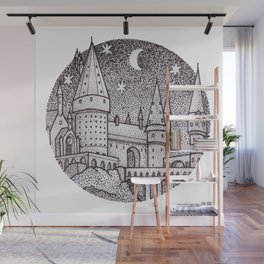 School of Witchcraft and Wizardry Wall Mural