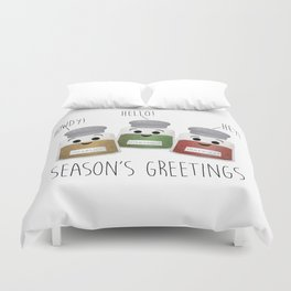 Season's Greetings | Garlic, Oregano & Paprika Duvet Cover