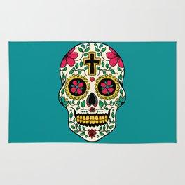 Skull Tattoo Rug