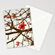 Springtime Bloom - Flame of the Forest Stationery Cards