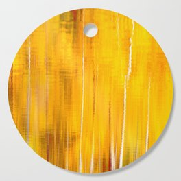 Autumn colors reflecting on the lake surface #decor #buyart #society6 Cutting Board