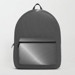 Bright Polished Titanium Metal Backpack