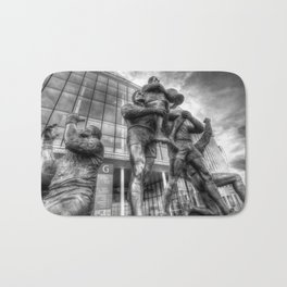 Rugby League Legends statue Wembley stadium Bath Mat