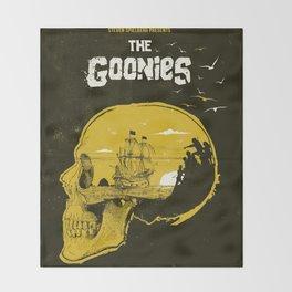 The Goonies art movie inspired Throw Blanket