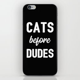 The Cat Lover III iPhone Skin