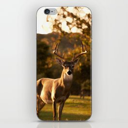 Geometric Deer iPhone Skin