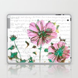 The Flower of Life - Free Hand Calligraphy! Laptop & iPad Skin