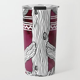 Peace of Wood Travel Mug