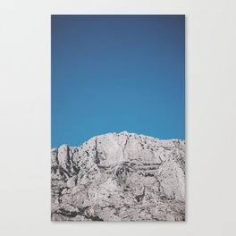 Sainte Victoire mountain Canvas Print