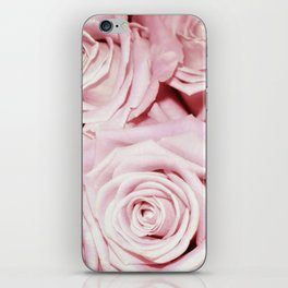 Beautiful bed of pink roses- Floral Rose Flowers iPhone Skin