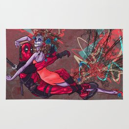 Dead pool's Dance With Death Rug