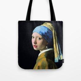 Vermeer - Girl with a Pearl Earring Tote Bag